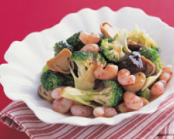 Braised Broccoli With Oyster Sauce