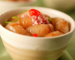 Stir-fried Yam Bundles With Minced Ham
